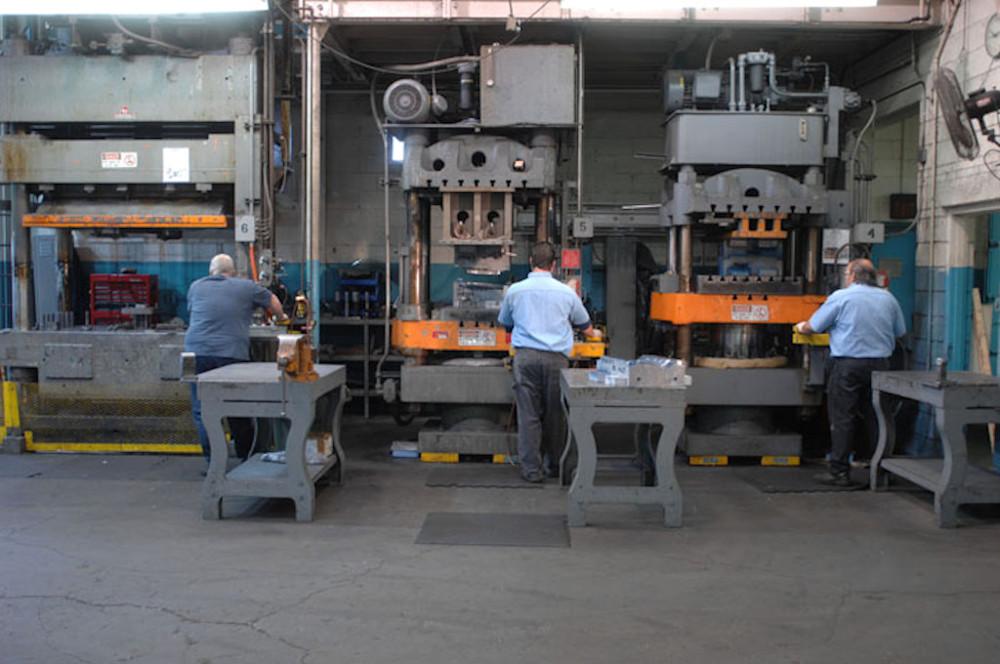 500 Ton & 250 Ton Stamping Presses